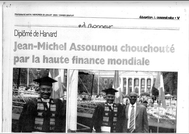 Schelton Assoumou News